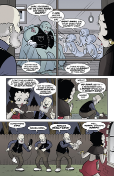 Betty Boop Dynamite Comic #1 (Page 14) by Rapper1996
