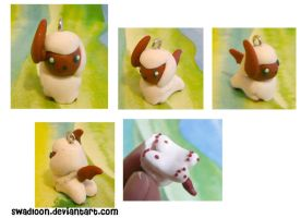 Chibi PM CM: Shiny Absol by Swadloon