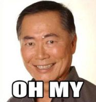 George-Takei-oh-my by SuperMoonImagination