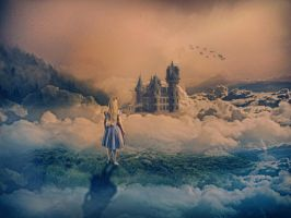 Castle in the Clouds by ObnoxiousNox