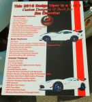 2016 Dodge Viper Info Board by TheMan268