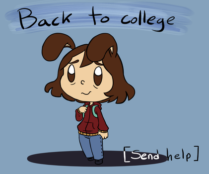 College Again by ForeverMuffin