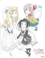 Soul Eater NOT! by Sartisian