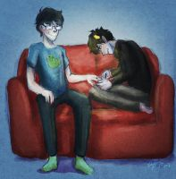 therapy with karkat vantas by affectionateTea