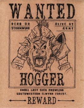 Wanted Hogger! by Betaalex