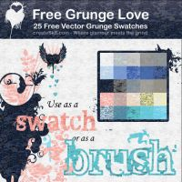 Free Grunge Love by namespace