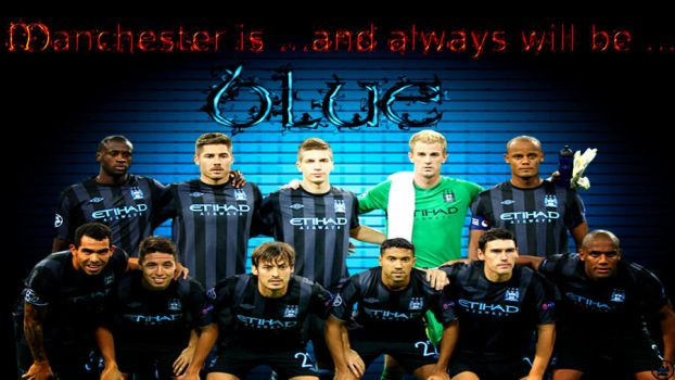 manchester is blue by mcfcbluebelle