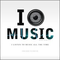 I listen music all the time... by Qubsik