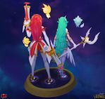Star Guardian Miss Fortune and Soraka Back by YBourykina