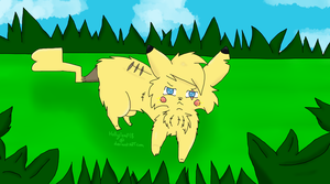 A Wild Pikachu Appeared! by Hollyleaf18