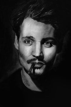 Johnny Depp by Deliszja