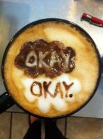 The Fault in Our Stars Latte by Coffee-Katie