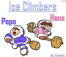 Ice Climbers by YoshiMan1118