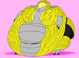COM Obese Xena by Robot001