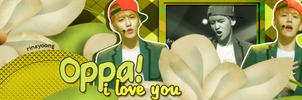 Oppa, i love you by rinayoong