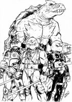 Ninja Turtles by channandeller