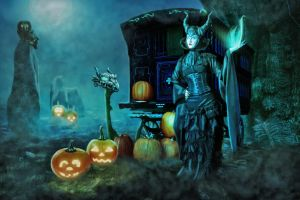 Welcome by Maleficent by mrscats