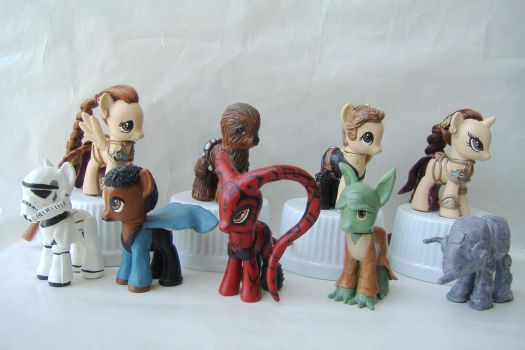Star Wars Custom Ponies by Roogna