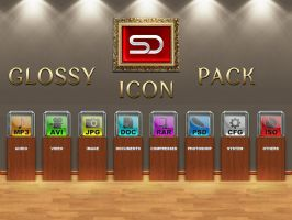 Glossy Icon Pack by shady06