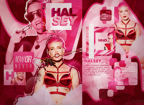 +edicion // Now or Never- halsey. by CAMI-CURLES-EDITIONS