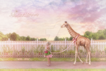 Miss G's Giraffe by juliemcgannfineart