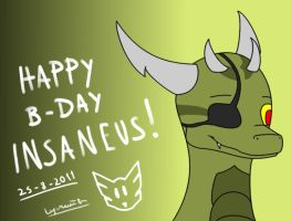 Happy b-day Insaneus by Lyorenth-The-Dragon