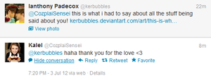 BRB FANGIRLING by kerbubbles