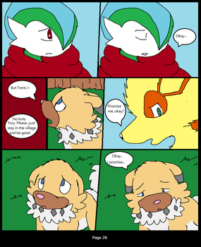 PMD: Strong Hearts- Book 3, Page 26 by XfangheartX