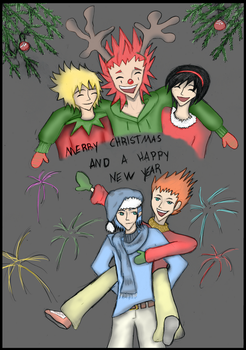 .:Merry Christmas and A Happy New Year:. by My13Memories
