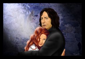 Lily and Snape by Eilish