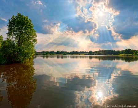 Heavenly Reflections by JustinDeRosa