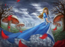 Alice in Wonderland by wudupcheese