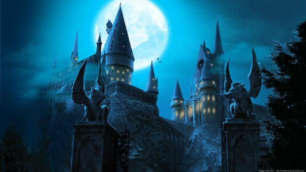 Hogwarts Castle wallpaper by Hardgamerpt