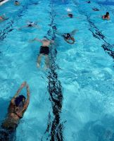 Swimmers by AfricanObserver