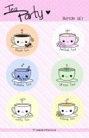 Tea Party by littlepaperforest