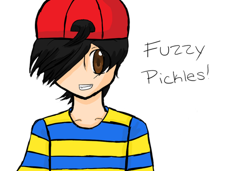 Fuzzy Pickles,for it's the day by VocaloidfanNerara