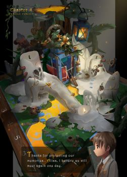 candle woods by arui001