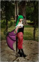 Morrigan Aensland cosplay by VictoriaRusso