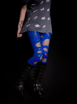 Blue Tights by CharlotteSilver