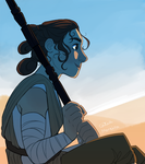 Rey by gingerbreadcat