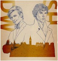 DOCTOR WHO and SHERLOCK by 403shiomi
