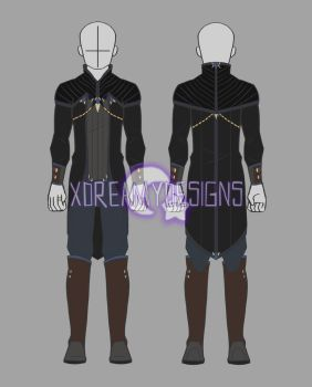Custom Clothing Commission for Meloki (2/3) by xDreamyDesigns