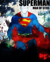 SUPERMAN :  JUSTICE LEAGUE by Ynnck