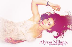 Alyssa Milano design/blend by CleoFD