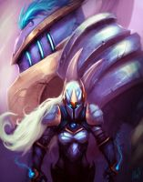 League of Legends: Wardens by Aths-Art