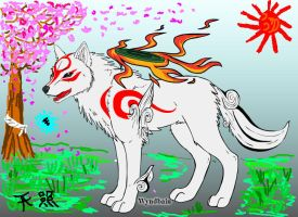 Okami Amaterasu, Mother to us all by Glory-of-the-Sun