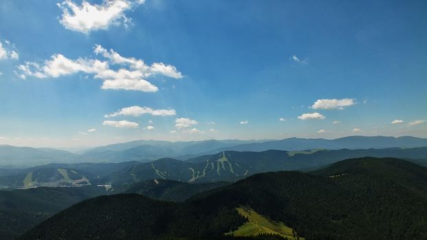 In the mountains by johnpenko