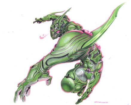 Guyver by ChaseConley