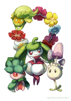 Alolan flowers and occasional fungi
