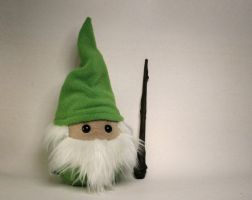 Merle the Wizard Plushie by Saint-Angel